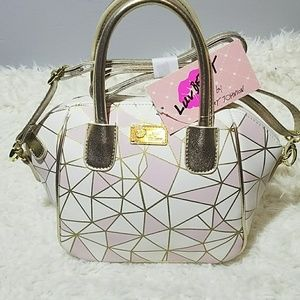 NWT🌺BJ Honey LBQUINN mini satchel